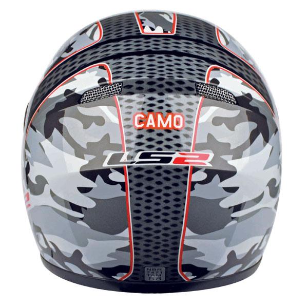 Capacete LS2 FF350 Camo Vermelho - GANHE BALACLAVA  - Super Bike - Loja Oficial Alpinestars