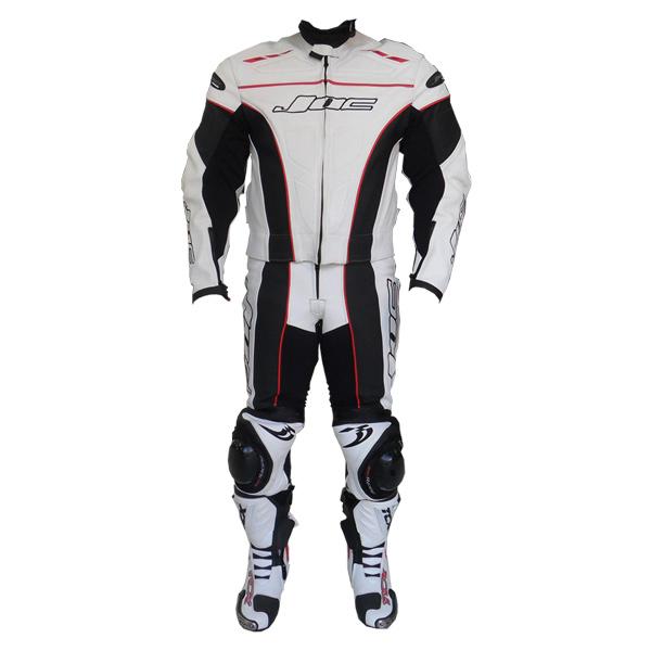 Macac�o JOC Racing c/ Cupim - Branco  - Super Bike - Loja Oficial Alpinestars