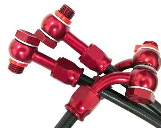 Kit de Mangueiras para Freio Aeroquip - CBR 1000RR 08/12  - Super Bike - Loja Oficial Alpinestars