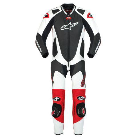 Macacão Alpinestars GP Pro -Tricolor vermelha - 1 Peça antiga  - Super Bike - Loja Oficial Alpinestars