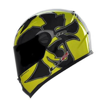 Capacete LS2 FF358 Warrior Amarelo - LANÇAMENTO  - Super Bike - Loja Oficial Alpinestars
