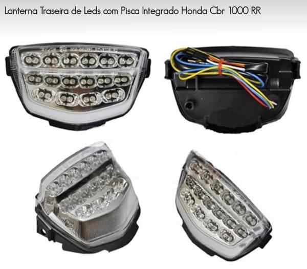 Lanterna Integrada C/Pisca em Led Emgo - Honda CBR1000 08/12  - Super Bike - Loja Oficial Alpinestars