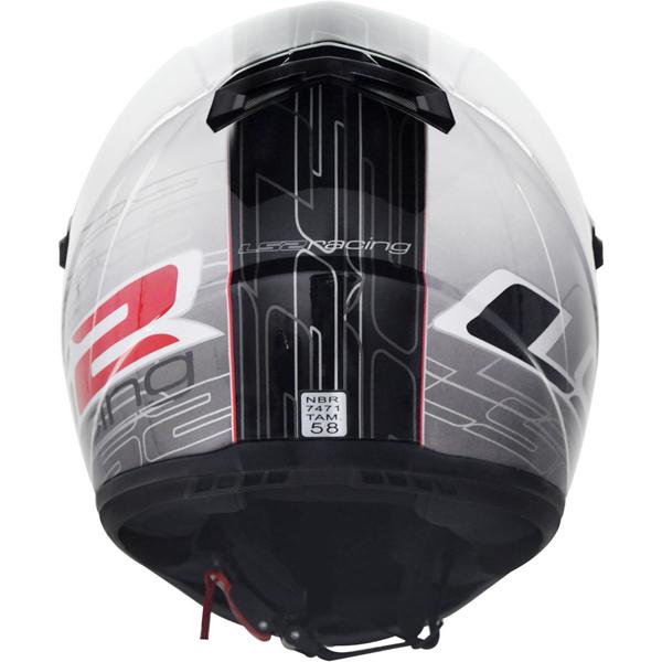 Capacete LS2 FF358 Racing - Ganhe Boné AGV Oficial !!  - Super Bike - Loja Oficial Alpinestars