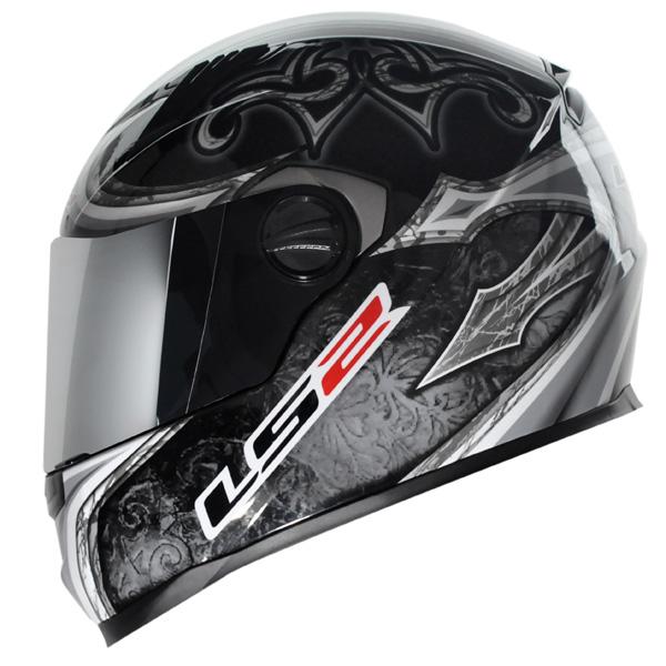 Capacete LS2 FF358 Scorpion - Prata Promo - Ganhe Boné LS2 !!  - Super Bike - Loja Oficial Alpinestars