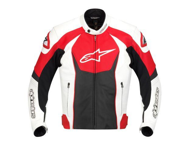 Jaqueta Alpinestars GP R (Branca, Vermelho Preto) antiga  - Super Bike - Loja Oficial Alpinestars