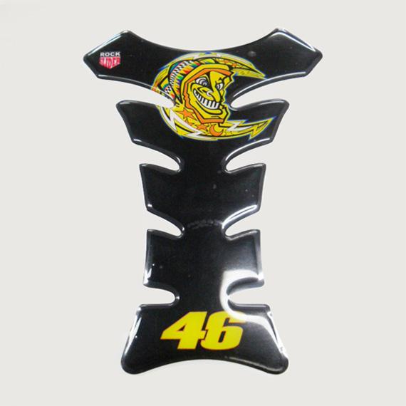 Protetor de tanque Valentino Rock Slider 46 preto  - Super Bike - Loja Oficial Alpinestars