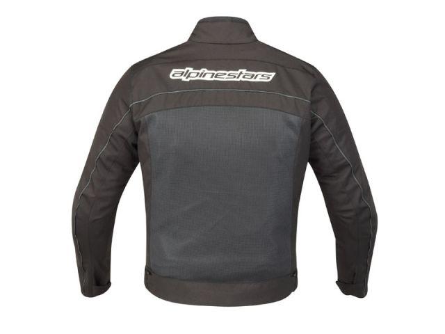 Jaqueta Alpinestars Randon Air (Preta/ Ventilada)  - Super Bike - Loja Oficial Alpinestars