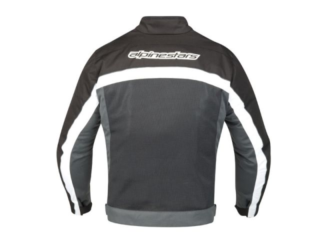 Jaqueta Alpinestars Randon Air (Preto Branco/ Ventilada)  - Super Bike - Loja Oficial Alpinestars