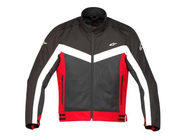 Jaqueta Alpinestars Randon Air (Preta Vermelha/ Ventilada)  - Super Bike - Loja Oficial Alpinestars
