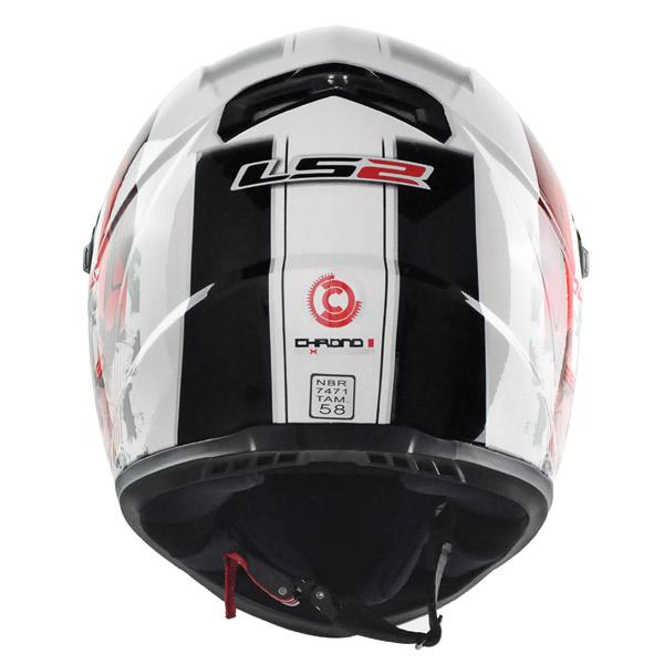 Capacete LS2 FF358 Chrono II  - Super Bike - Loja Oficial Alpinestars