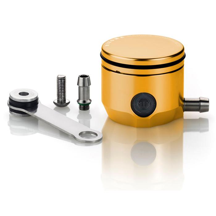 Reservatório de óleo de freio Rizoma CT027G - Dourado  - Super Bike - Loja Oficial Alpinestars