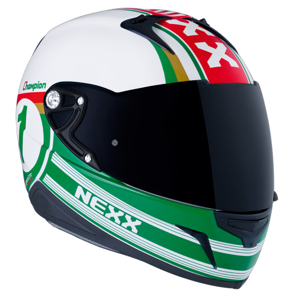 Capacete Nexx XR1R Champion Verde  - Super Bike - Loja Oficial Alpinestars