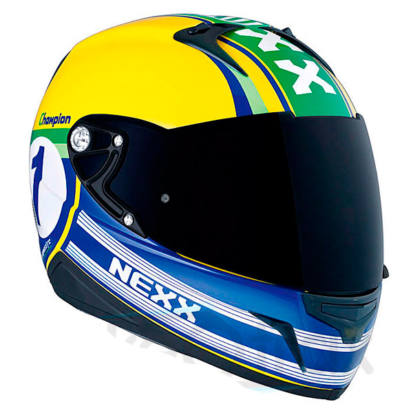 Capacete Nexx XR1R Champion Amarelo  - Super Bike - Loja Oficial Alpinestars