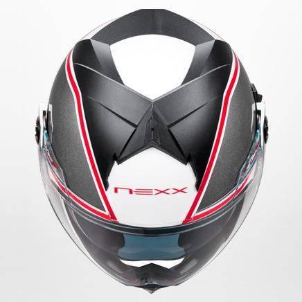 Capacete Nexx X30.V Viper branco/vermelho  Promoção!  - Super Bike - Loja Oficial Alpinestars