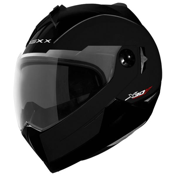 Capacete Nexx X30.V Plain Preto Brilhante Promo��o!  - Super Bike - Loja Oficial Alpinestars