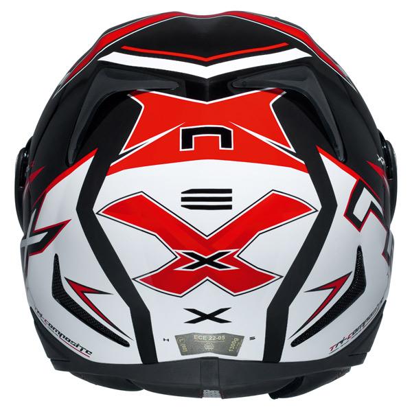 Capacete Nexx XR1R Blade Vermelho - Ganhe Camiseta  - Super Bike - Loja Oficial Alpinestars