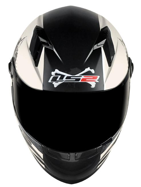 Capacete LS2 FF358 Misfits Branco Perolado Promo  - Super Bike - Loja Oficial Alpinestars