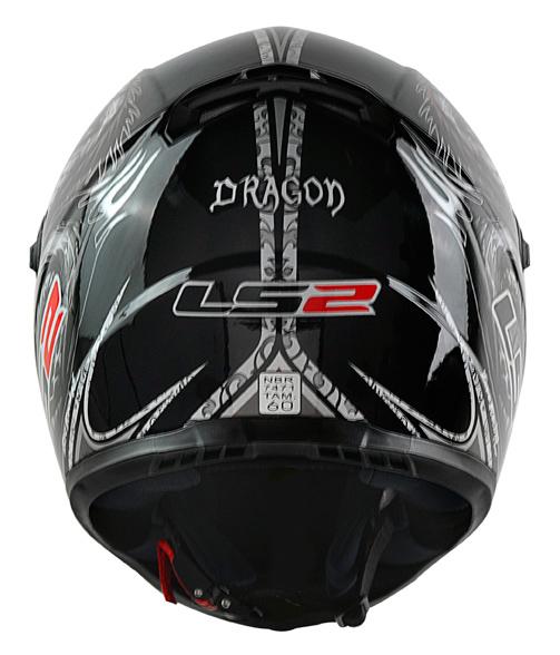Capacete LS2 FF358 Dragon - Preto Promo - Ganhe Boné LS2 !!  - Super Bike - Loja Oficial Alpinestars