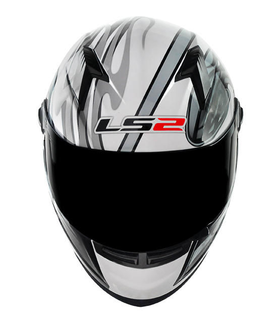 Capacete LS2 FF358 Burn - Prata - Ganhe Boné LS2 !!  - Super Bike - Loja Oficial Alpinestars