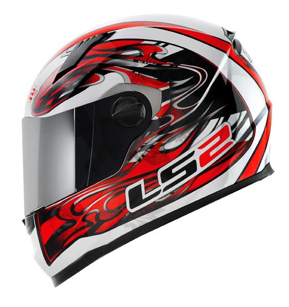 Capacete LS2 FF358 Burn - Vermelho Promo - Ganhe Boné LS2 !!  - Super Bike - Loja Oficial Alpinestars