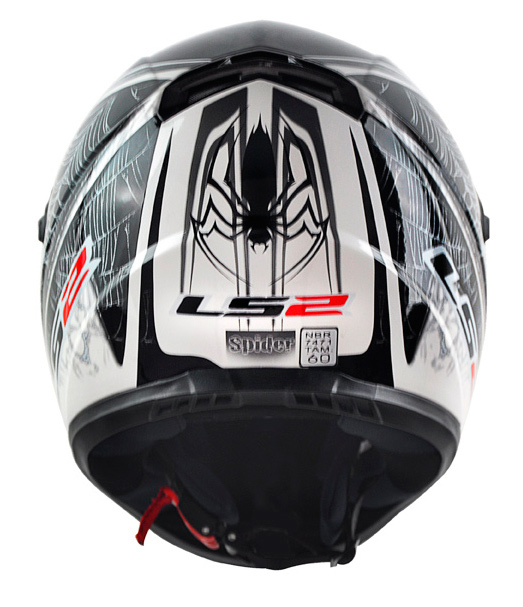 Capacete LS2 FF358 Spider - Prata - Promo - Ganhe Boné LS2 !!  - Super Bike - Loja Oficial Alpinestars