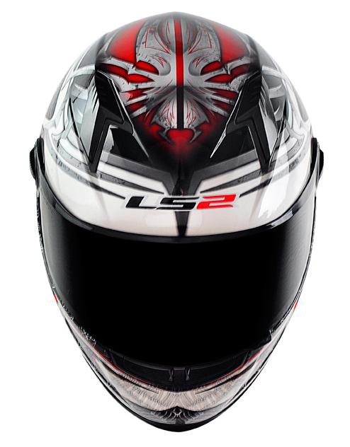 Capacete LS2 FF358 Spider - Vermelho Promo - Ganhe Boné LS2 !!  - Super Bike - Loja Oficial Alpinestars