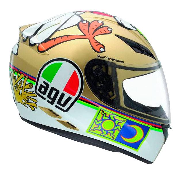 Capacete AGV K-3 Chicken Valentino Rossi  - Super Bike - Loja Oficial Alpinestars