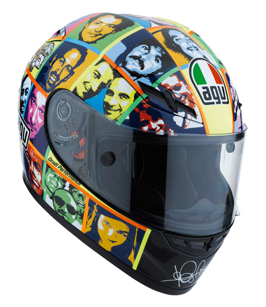 Capacete AGV GP-TECH Faces  - Super Bike - Loja Oficial Alpinestars