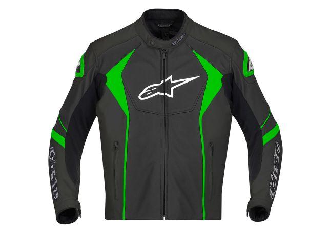 Jaqueta Alpinestars GP R (Preta Verde) antiga  - Super Bike - Loja Oficial Alpinestars