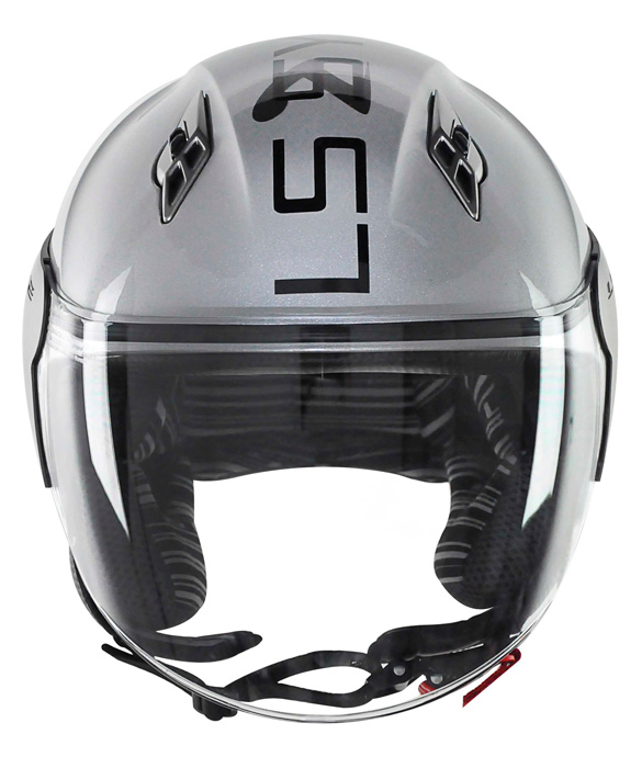 Capacete LS2 OF559 System - Cinza - Ganhe Boné LS2 !!  - Super Bike - Loja Oficial Alpinestars