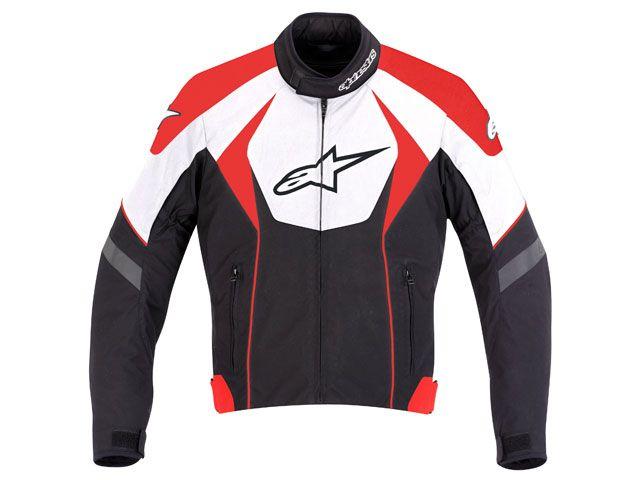 Jaqueta Alpinestars T GP R (Tricolor Vermelho)  - Super Bike - Loja Oficial Alpinestars