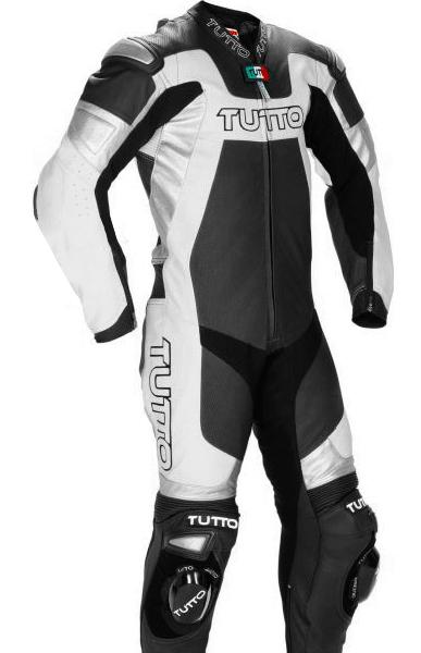 Macacão Tutto Titanium Preto e Branco - 1 peça  - Super Bike - Loja Oficial Alpinestars