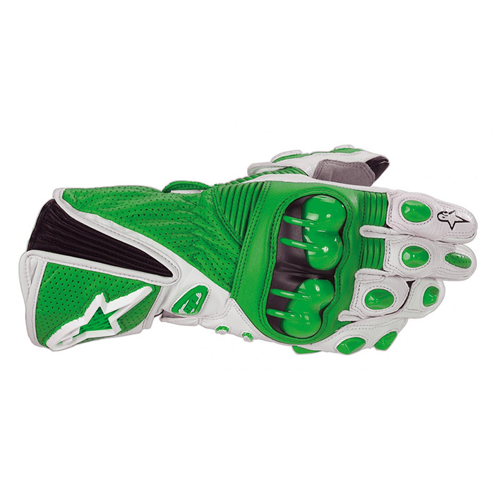 Luva Alpinestars GP Plus - Verde Antiga  - Super Bike - Loja Oficial Alpinestars