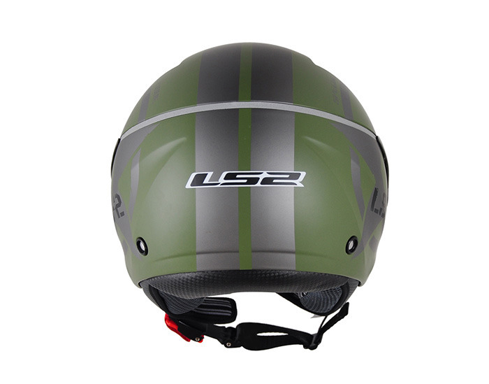 Capacete LS2 OF559 Combat Matt Green  - Super Bike - Loja Oficial Alpinestars