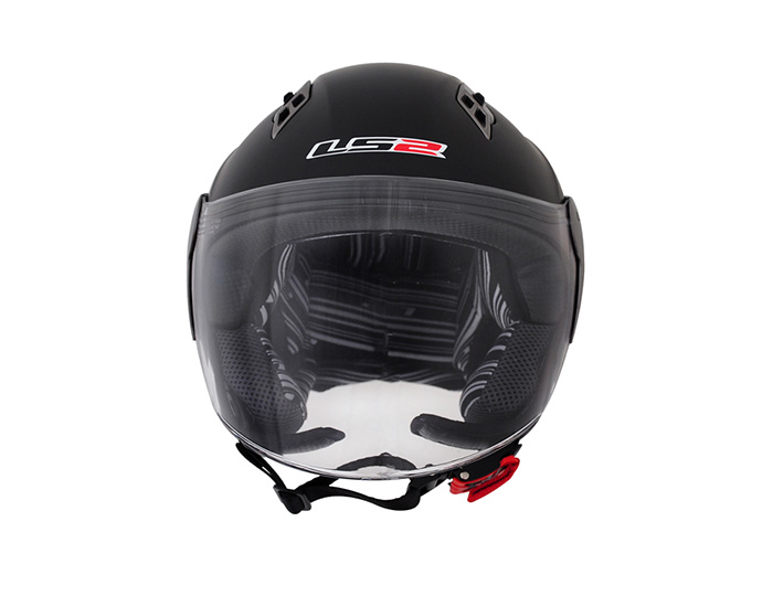 Capacete LS2 OF559 Mono Matt Black  - Super Bike - Loja Oficial Alpinestars