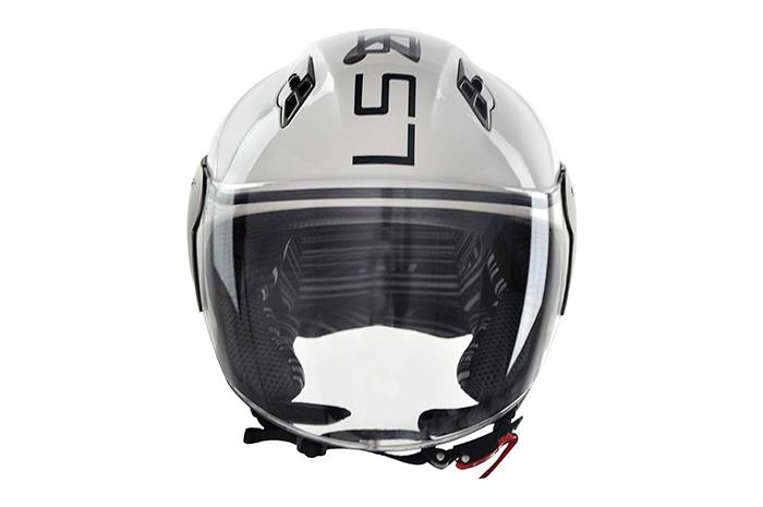 Capacete LS2 OF559 System White/Black - Ganhe Boné LS2 !!  - Super Bike - Loja Oficial Alpinestars