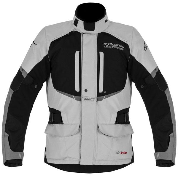 Jaqueta Alpinestars Stella Andes Drystar® WP Cinza Claro/ Feminina (COMPRE JUNTO!) para Big Trail  - Super Bike - Loja Oficial Alpinestars