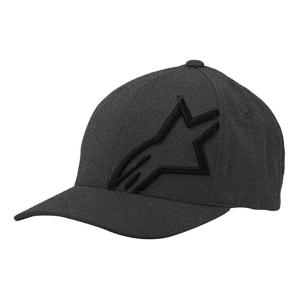 Boné Alpinestars  Corp Shift 2 (Brim Dark Heather e Preto)  - Super Bike - Loja Oficial Alpinestars