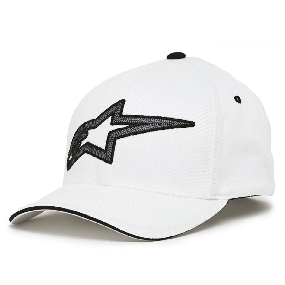 Boné Alpinestars Reflect Flexit Branco  - Super Bike - Loja Oficial Alpinestars