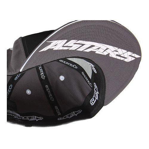 Boné Alpinestars Sparks (Black) Lançamento!!  - Super Bike - Loja Oficial Alpinestars