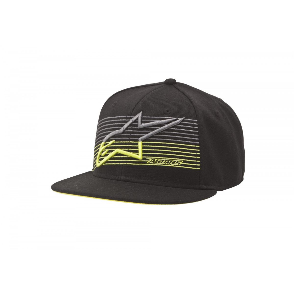 Bon� Alpinestars Underlined Preto e Neon NEW!!!  - Super Bike - Loja Oficial Alpinestars