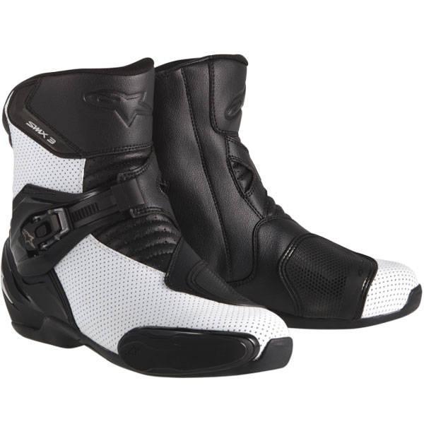 Bota Alpinestars SMX-3 (Black White /Ventilada)  - Super Bike - Loja Oficial Alpinestars