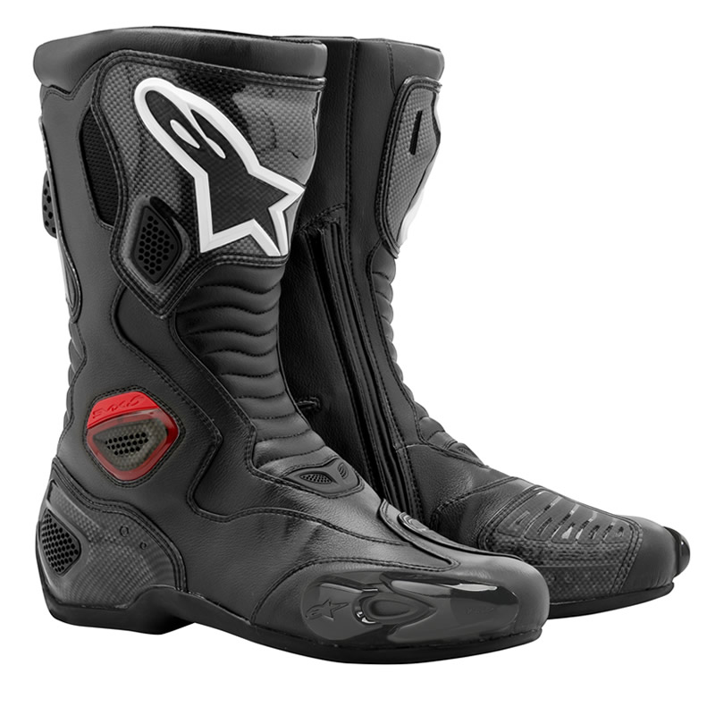 Bota Alpinestars SMX-5 RS Carbon Road (Preta) Outlet Semana do Consumidor!  - Super Bike - Loja Oficial Alpinestars