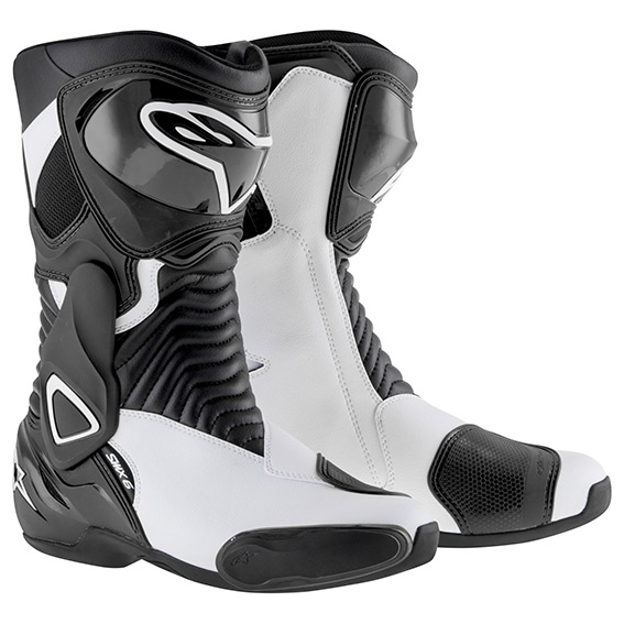 Bota Alpinestars SMX-6 (Black/White)  - Super Bike - Loja Oficial Alpinestars