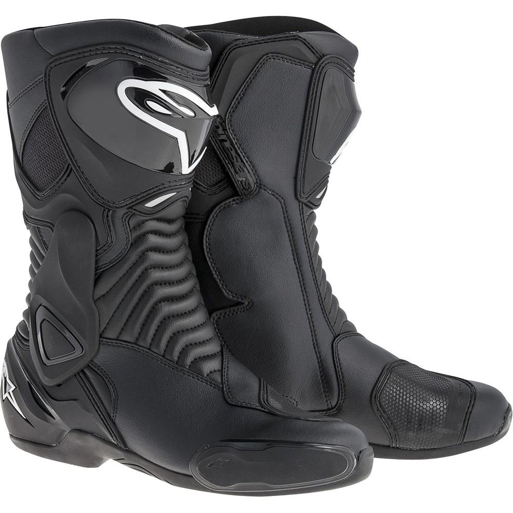 >> Bota Alpinestars SMX-6 (Black)  - Super Bike - Loja Oficial Alpinestars