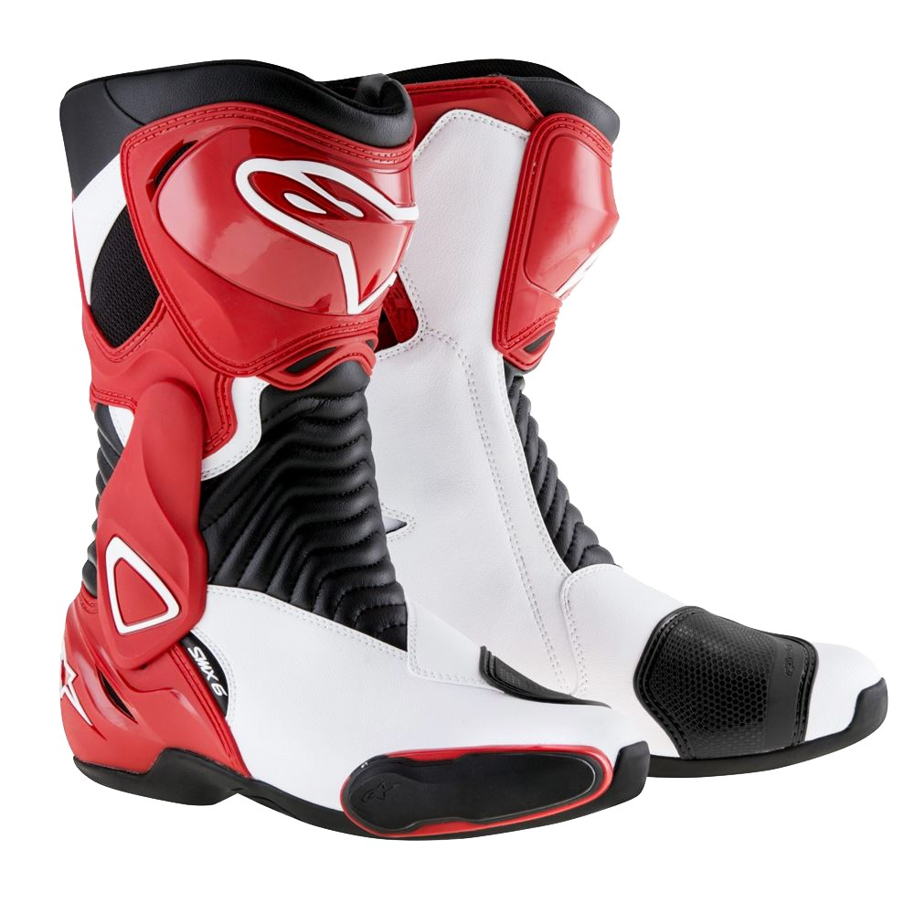>> Bota Alpinestars SMX-6 (Black/Red/White)  - Super Bike - Loja Oficial Alpinestars