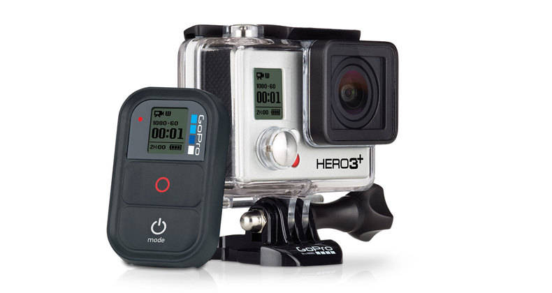 CÂMERA DIGITAL FULL HD GOPRO HERO3+ BLACK EDITION ADVENTURE 12MP  - Super Bike - Loja Oficial Alpinestars