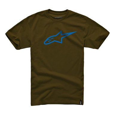 Camiseta Alpinestars Ageless Classic Tee (Java/Blue)  - Super Bike - Loja Oficial Alpinestars