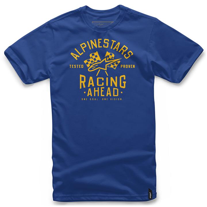 Camiseta Alpinestars Ahead Tee (Blue) Lançamento 2016  - Super Bike - Loja Oficial Alpinestars