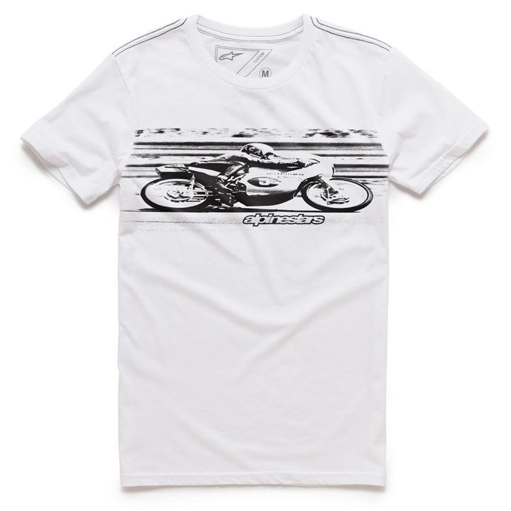 Camiseta Alpinestars Band (White) Lançamento 2016  - Super Bike - Loja Oficial Alpinestars